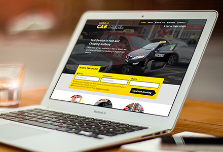 Picture of Grab-a-Cab's homepage